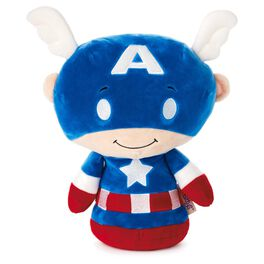 itty bittys® BIGGYS Captain America Stuffed Animal, , large