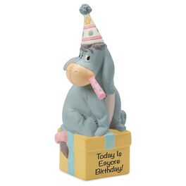 Precious Moments® Eeyore of Winnie the Pooh Birthday Figurine, , large