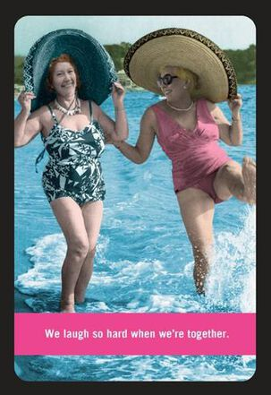 Laugh So Hard Funny Friend Birthday Card