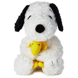 """Peanuts® Medium Snoopy With Woodstock Stuffed Animal, 14"""", , large"""