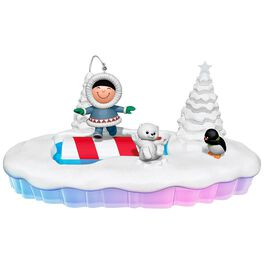The World of Frosty Friends Let the Good Times Roll Tabletop Decoration, , large