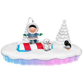 The World of Frosty Friends Let the Good Times Roll Tabletop Decoration,