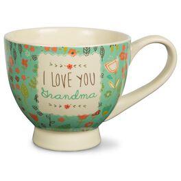 I Love You Grandma Mug, 17 oz., , large