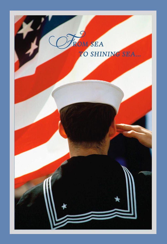 Sea To Shining Sea Navy Veterans Day Card Greeting Cards Hallmark