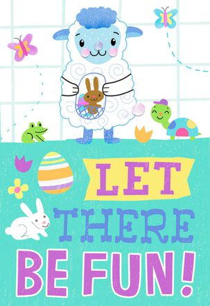 Let There Be Fun Easter Card
