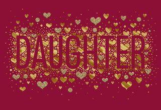 You Are a Dream Come True Sweetest Day Card for Daughter,