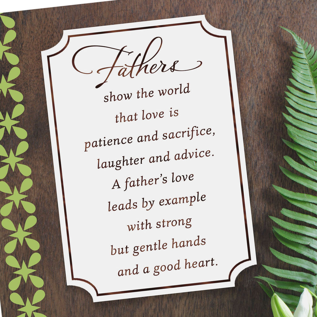 A Fathers Love Birthday