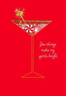You Make My Spirit Bright Christmas Card,
