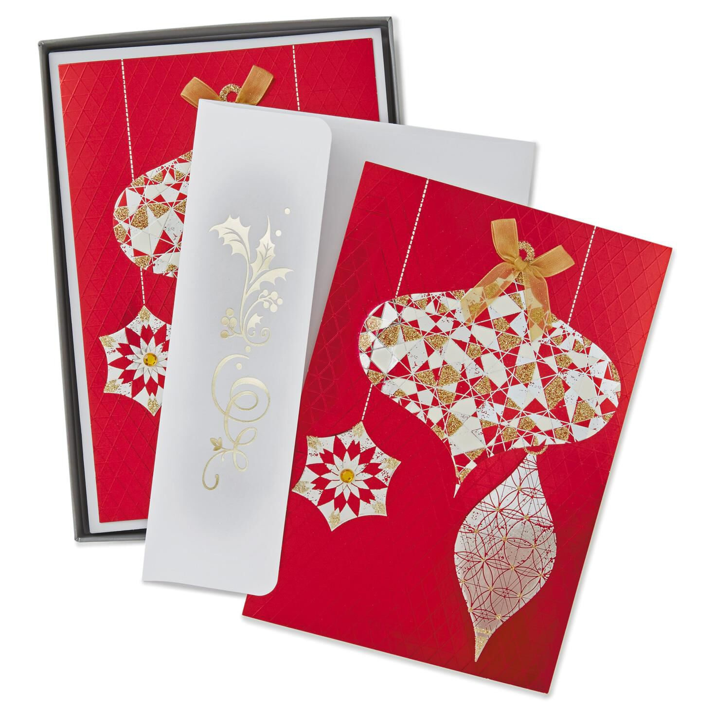 fancy ornaments christmas cards box of 12 boxed cards hallmark - Fancy Christmas Cards