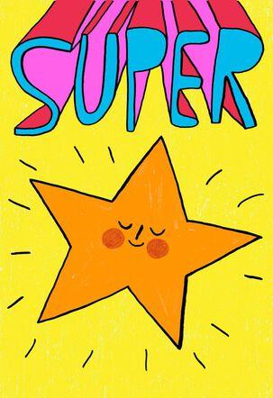 Superstar Kids Just Because Card
