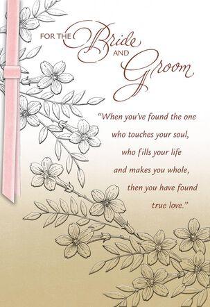 You Found True Love Wedding Card