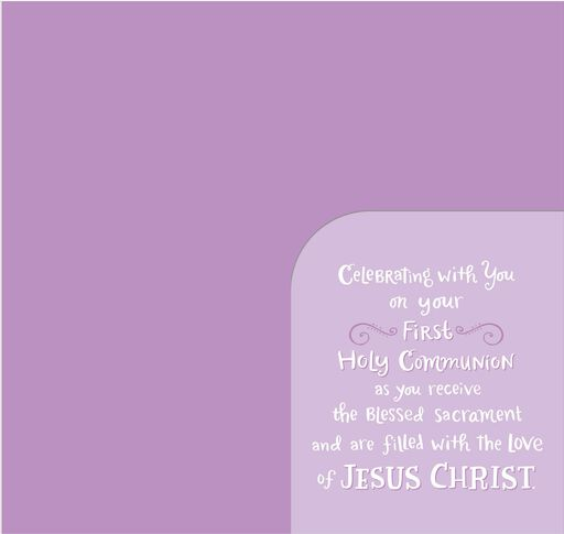 Celebrating Your First Holy Communion Money Holder Card,