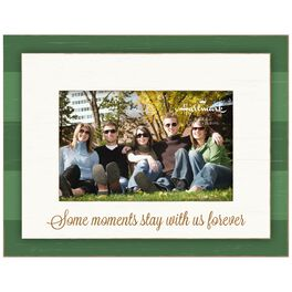 Forever Moments Stripe Wood Photo Frame, 4x6, , large