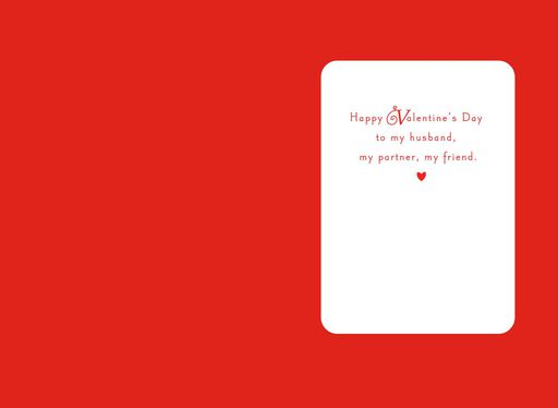 The Lovely Road of Life Valentine's Card for Husband,