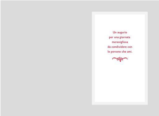 Buon compleanno Italian-Language Birthday Card,
