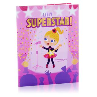 Superstar Personalized Book,