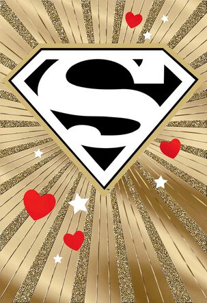 Superman™ Spanish-Language Valentine's Day Card for Boyfriend