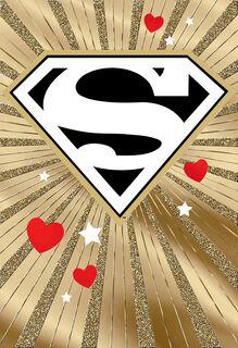 Superman™ Spanish-Language Valentine's Day Card for Boyfriend,
