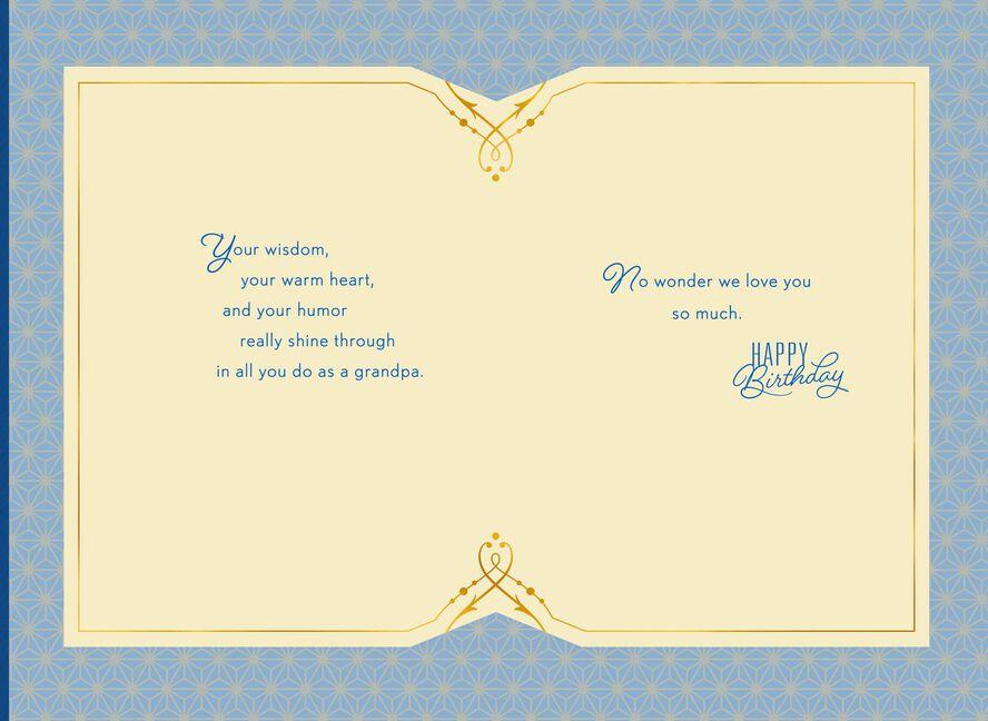 Oak Leaf Birthday Card For Grandpa Greeting Cards Hallmark