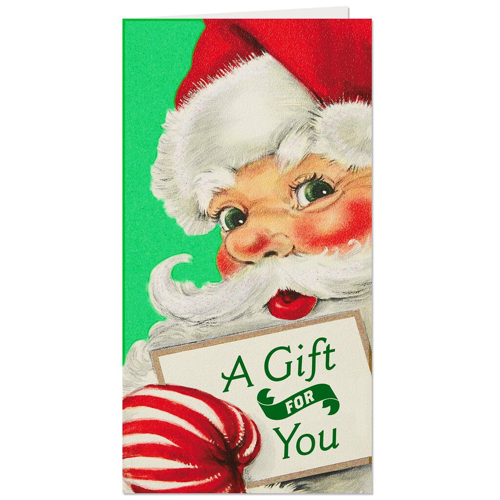 Santa Gift for You Money Holder Christmas Cards, Pack of 6 - Boxed ...