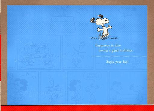 Peanuts™ Good Friend, Great Birthday Card,