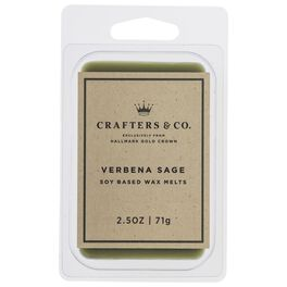 Crafters & Co. Verbena Sage Wax Melt, 2.5-oz, , large