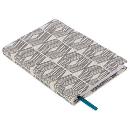 Etched Lines Fabric Journal, , large