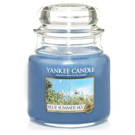 Blue Summer Sky Medium Jar Candle by Yankee Candle®, , large