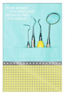 Dental School Graduation Card,
