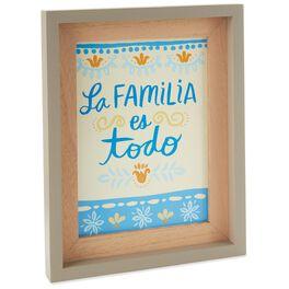 La Familia Es Todo Framed Art, , large