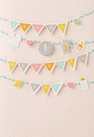 Baby Banner 1st Mother's Day Card