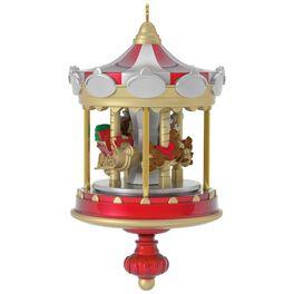 Christmas Carousel Mini Ornament, , large