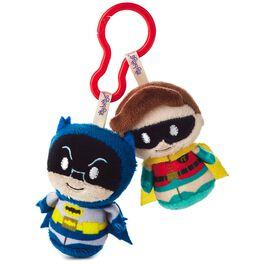 BATMAN™ and ROBIN™ itty bittys® Clippys Stuffed Animals, , large