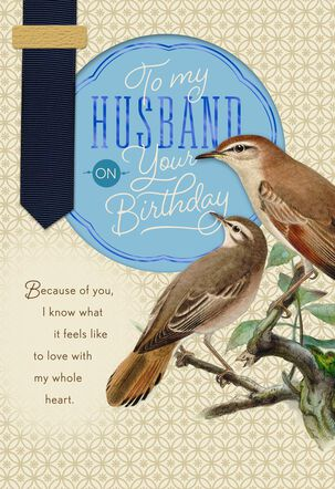 My Love, My Best Friend Birthday Card for Husband