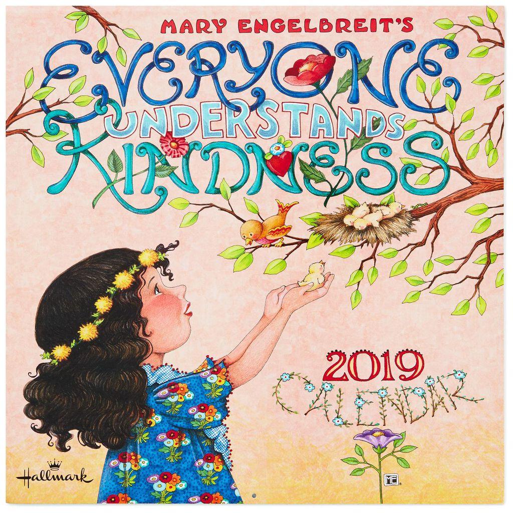 Mary Engelbreit Everyone Understands Kindness 2019 Wall Calendar, 12 ...