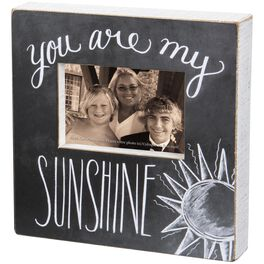 Primitives by Kathy You Are My Sunshine Picture Frame, 4x6, , large