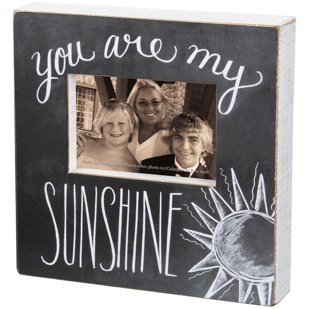 primitives by kathy you are my sunshine picture frame 4x6 - You Are My Sunshine Frame