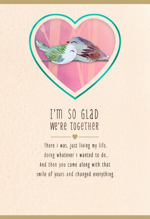 So Glad We're Together Valentine's Day Card