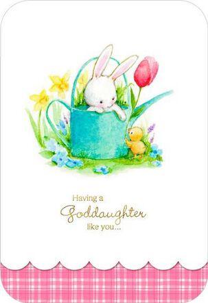 Goddaughter Like You Easter Card