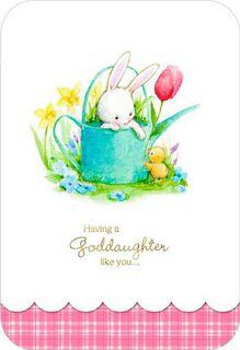 Goddaughter Like You Easter Card,