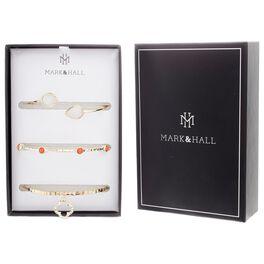 Mark & Hall Bangle Bracelets, Set of 3, , large