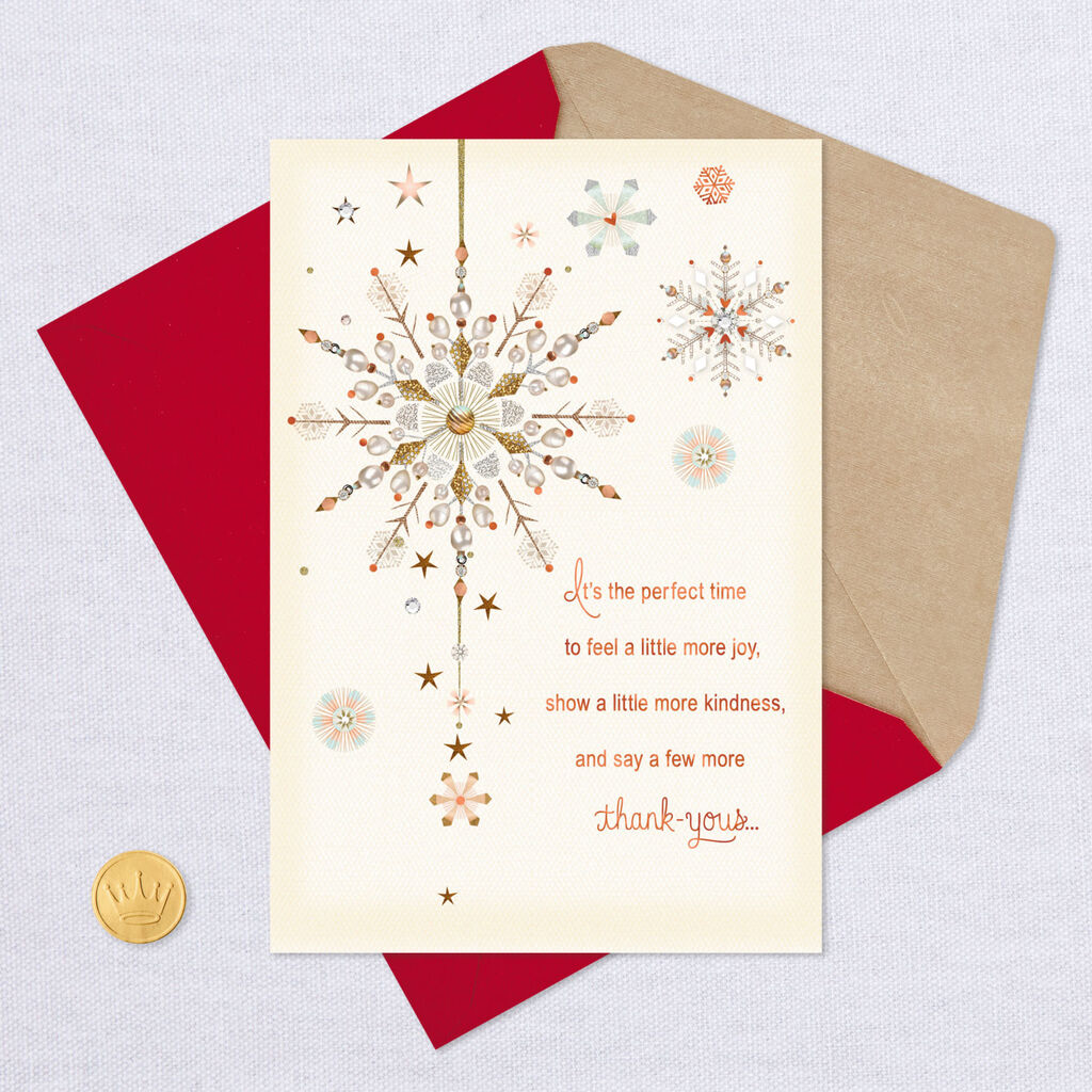 Christmas Thank You Cards.It S The Perfect Time Christmas Thank You Card