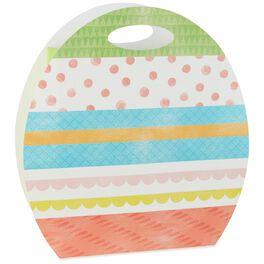 """Easter Egg Die-Cut X-Deep Gift Bag, 15"""", , large"""