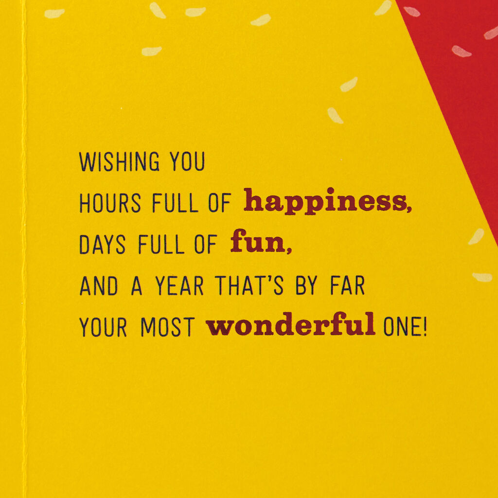 Pinwheels Full of Happiness Birthday Card