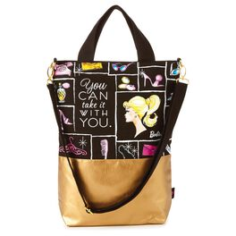 Barbie™ Take It With You Zippered Tote Bag, , large