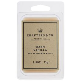 Crafters & Co. Warm Vanilla Wax Melt, 2.5-oz, , large