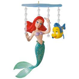 Disney The Little Mermaid Ariel's World Ornament, , large