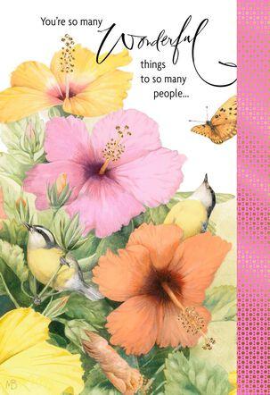 Marjolein Bastin You Are Wonderful Birthday Card
