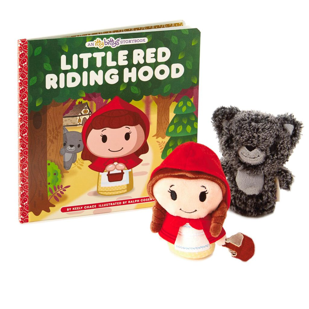 Itty Bittys Little Red Riding Hood Stuffed Animals And Storybook Bott Funko Plushies Sw First Order Bb Unit 9e Set