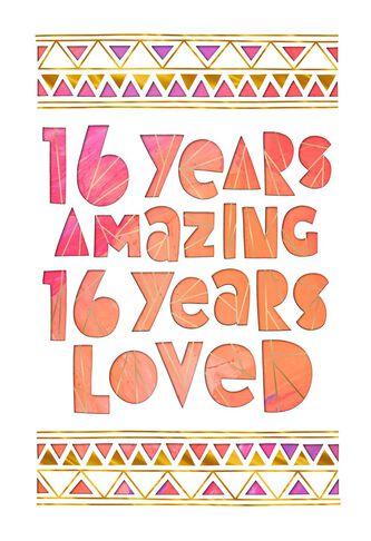 Amazing sweet 16 birthday card greeting cards hallmark amazing sweet 16 birthday card bookmarktalkfo Choice Image